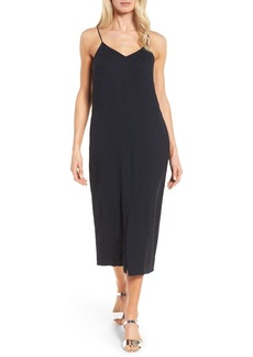 Nordstrom Collection Shadow Dot Midi Dress