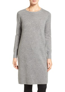 Nordstrom Collection Side Vent Cashmere Tunic