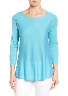 Nordstrom Collection Silk & Cashmere Pullover
