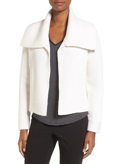 Nordstrom Collection Spread Collar Cashmere Cardigan