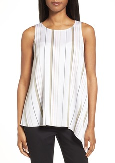 Nordstrom Collection Stretch Silk Side Drape Top