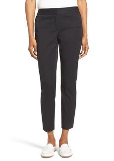 Nordstrom Collection Stretch Slim Leg Crop Pants