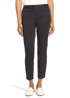 Nordstrom Collection Stretch Slim Leg Crop Pants