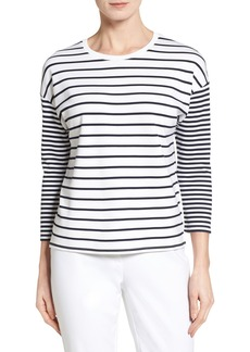 Nordstrom Collection Stripe Knit Top