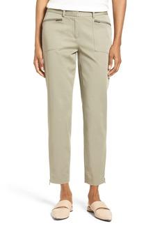 Nordstrom Collection Utility Slim Crop Pants