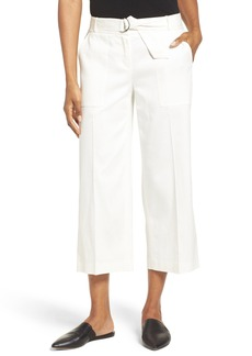 Nordstrom Collection Wide Leg Crop Pants