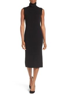 Nordstrom Collection Wool Blend Rib Sweater Dress