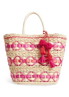Nordstrom Color Pop Woven Tote