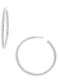 Nordstrom Crystal Hoop Earrings