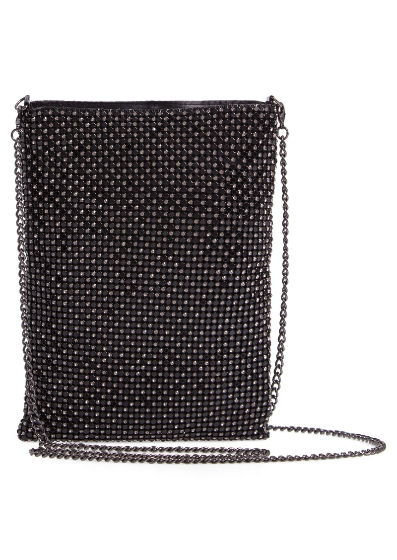 Nordstrom Crystal Mesh Crossbody Bag