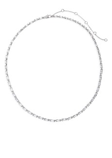 Nordstrom Cubic Zirconia Baguette Collar Necklace