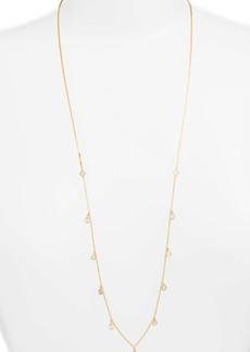 Nordstrom Cubic Zirconia Slider Necklace