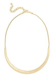 Nordstrom Curved Bar Necklace