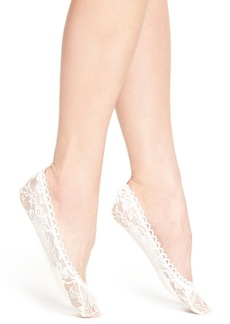 Nordstrom Cushioned Lace Liner Socks