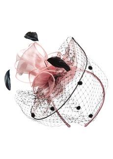 Nordstrom Dot & Feather Fascinator Headband