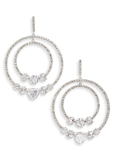 Nordstrom Double Orbital Hoop Earrings