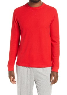 Nordstrom Fam Jam Long Sleeve Thermal Crewneck Pullover