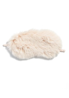 Nordstrom Faux Fur Eye Mask