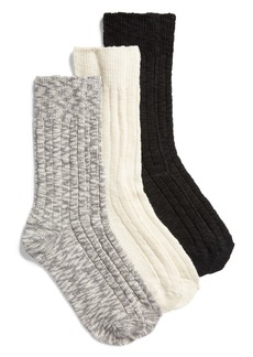 Nordstrom Favorite 3-Pack Boot Socks