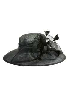 Nordstrom Feathered Sinamay Hat