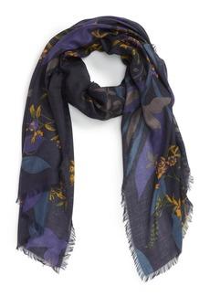 Nordstrom Floral Cashmere & Silk Scarf