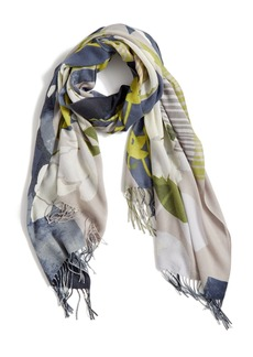 Nordstrom Floral Cashmere & Wool Scarf