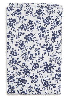 Nordstrom Floral Cotton Pocket Square (Boys)