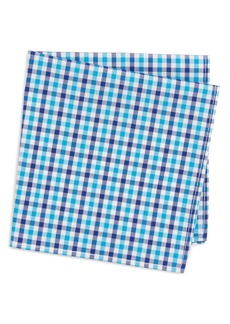 Nordstrom Gingham Pocket Square (Big Boys)