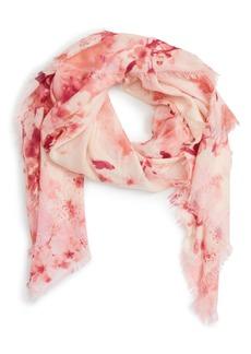 Nordstrom Graceful Hanami Cashmere & Silk Scarf