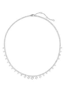 Nordstrom Graduated Cubic Zirconia Collar Necklace