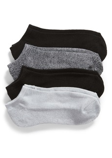 Nordstrom REPREVE® 4-Pack Cushion Footie Socks