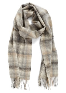 Nordstrom Heritage Plaid Cashmere Scarf