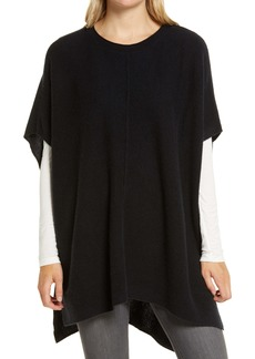 Nordstrom High/Low Wool & Cashmere Poncho