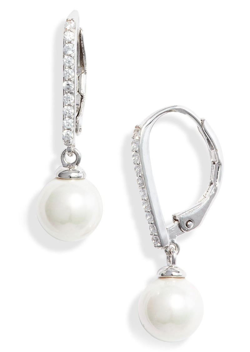 Nordstrom Imitation Pearl Drop Earrings
