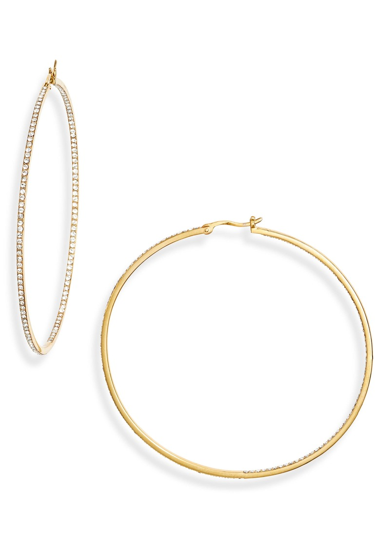Nordstrom Inside out Statement Hoop Earrings