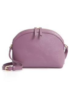 Nordstrom Isobel Half Moon Leather Crossbody Bag