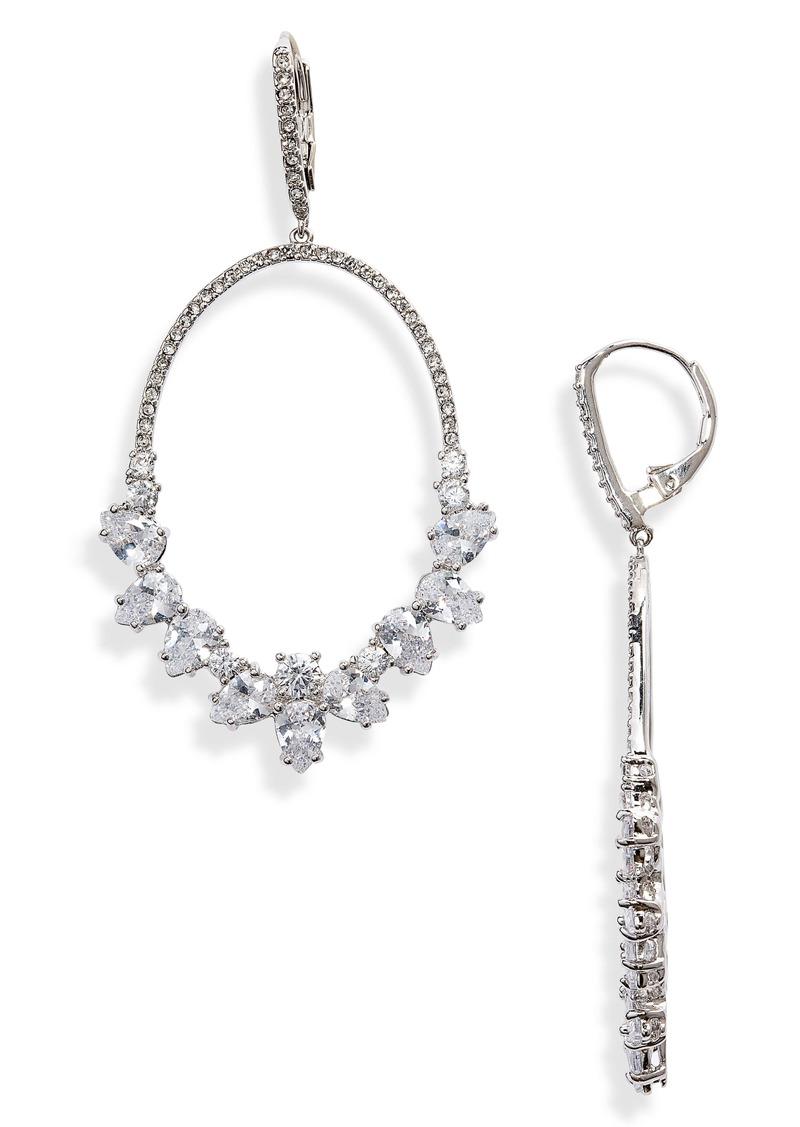 Nordstrom Jeweled Hoop Drop Earrings