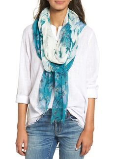 Nordstrom Jungle Blossoms Scarf