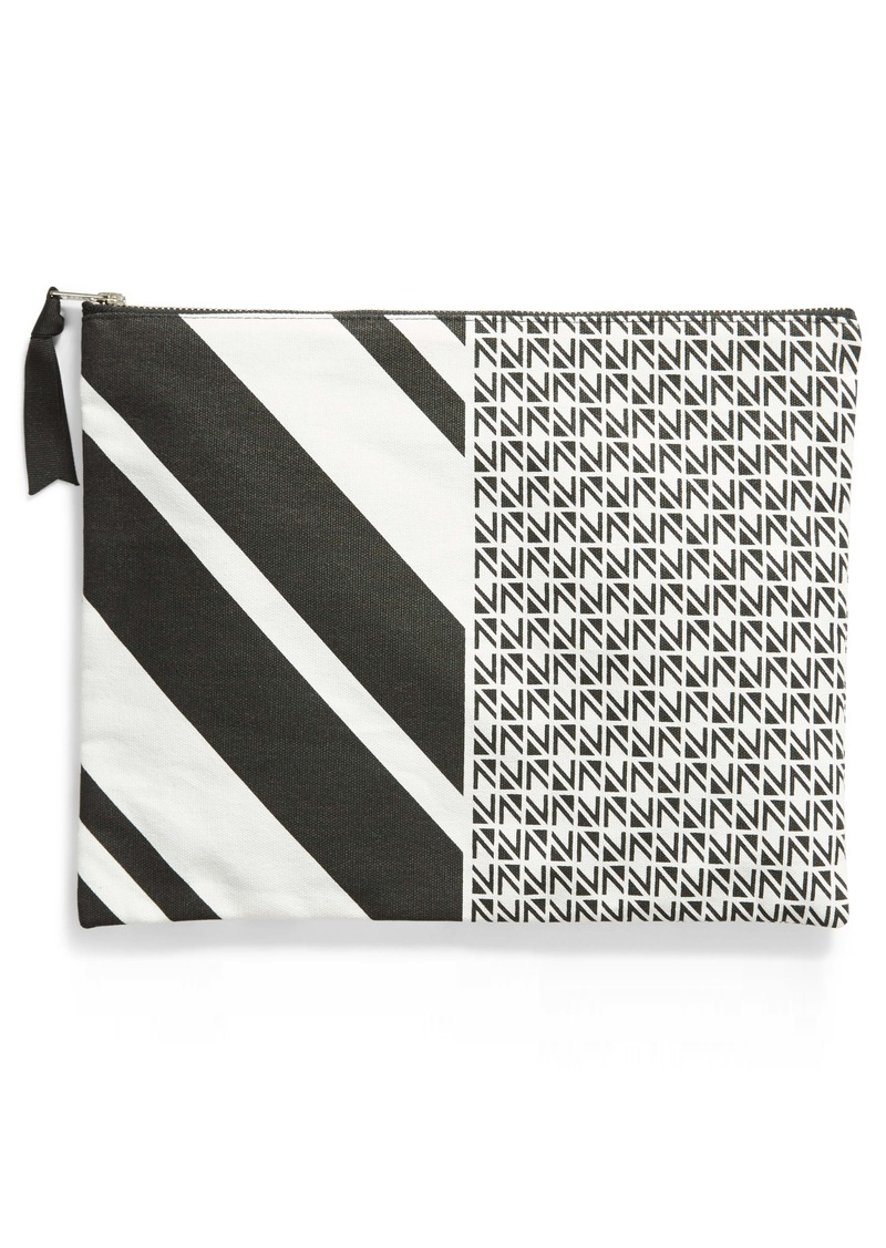 Nordstrom Large Canvas Zip Pouch