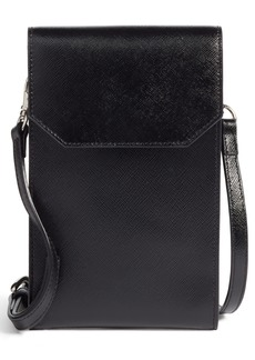 Nordstrom Leather Phone Crossbody Bag