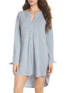 Nordstrom Lingerie Breathe Modal Jersey Sleep Shirt