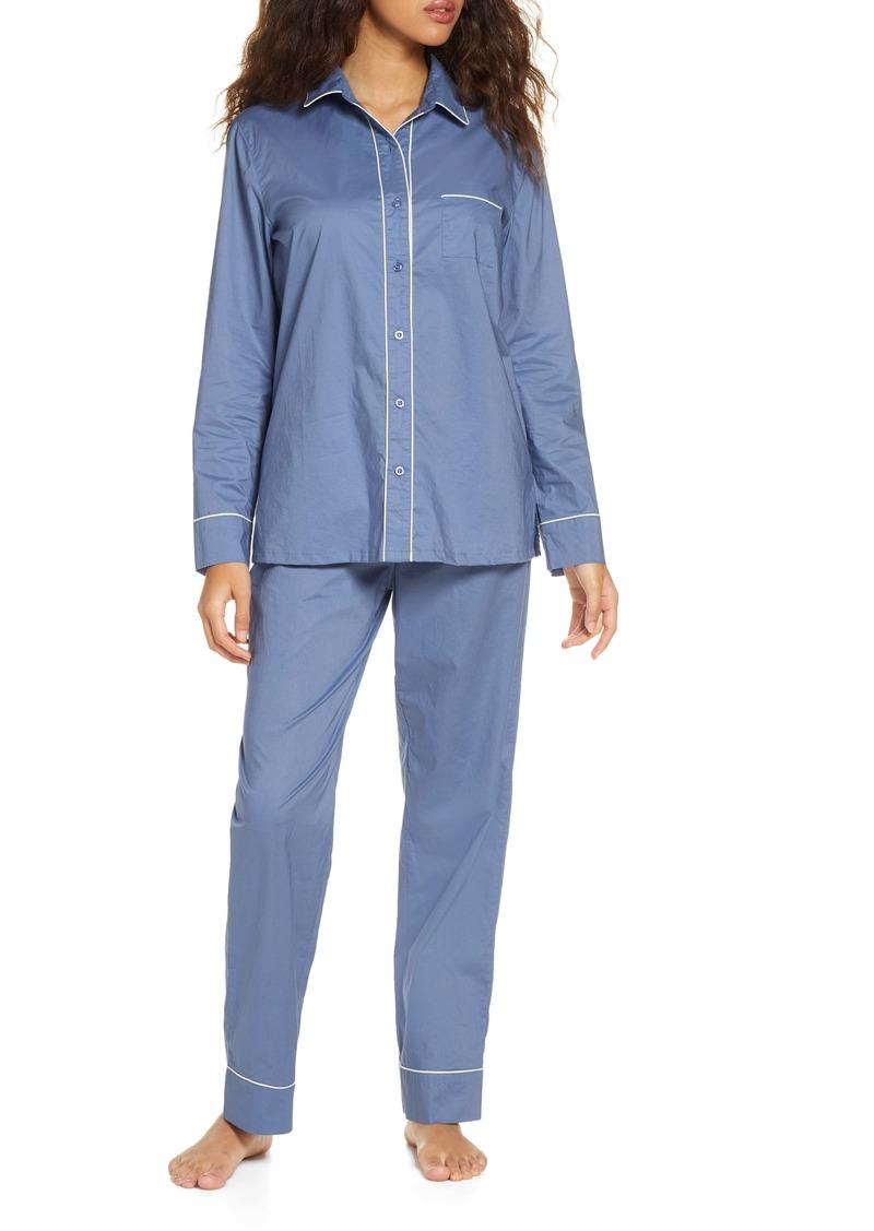 Nordstrom Lingerie Classic Cotton Pajamas