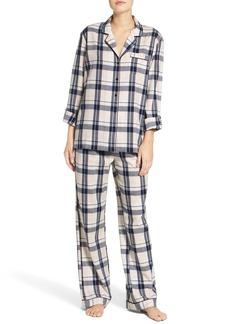 Nordstrom Lingerie Cotton Twill Pajamas