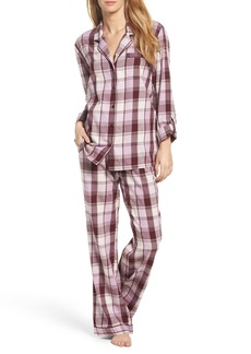 Nordstrom Lingerie Cotton Twill Pajamas