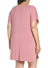 c9c23a3ceaf6d Nordstrom Nordstrom Lingerie Dolman Sleeve Nightshirt (Plus Size ...