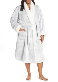 Nordstrom Lingerie Frosted Plush Robe (Plus Size)