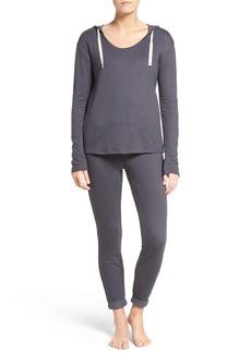 Nordstrom Lingerie Hoodie & Pants Outfit