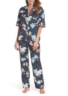 Nordstrom Lingerie Matte Satin Pajamas