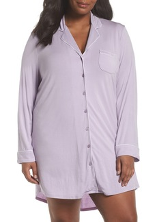Nordstrom Lingerie 'Moonlight' Nightshirt (Plus Size)