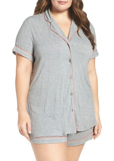 Nordstrom Lingerie 'Moonlight' Short Pajamas (Plus Size)